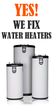 our plumbers can repair and install any type of water heaters